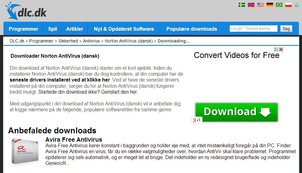 Download af fil