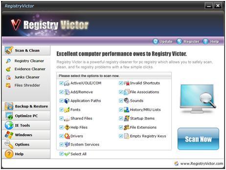Registry Victor