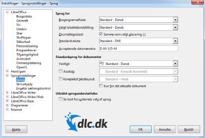 libreoffice download language pack