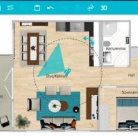 Renovering af hus med RoomSketcher