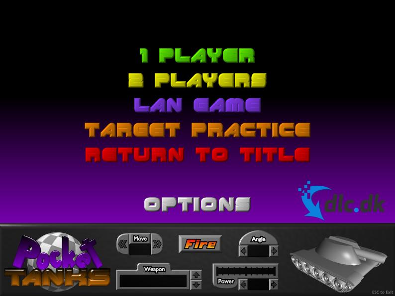Screenshot af Pocket Tanks
