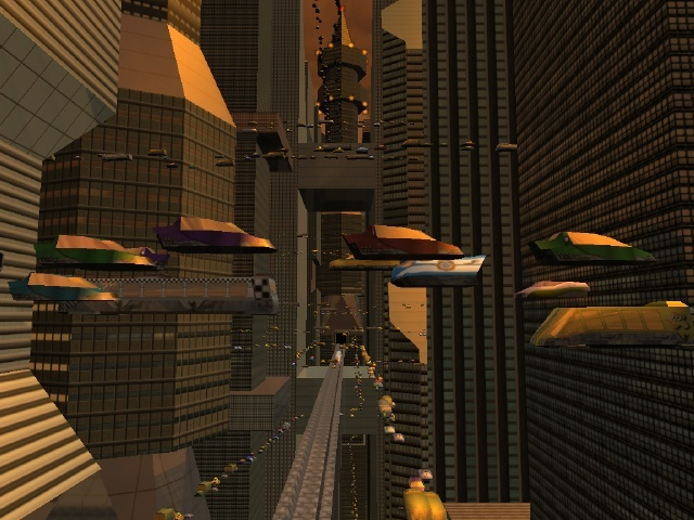 Screenshot af Future City 3D Screensaver