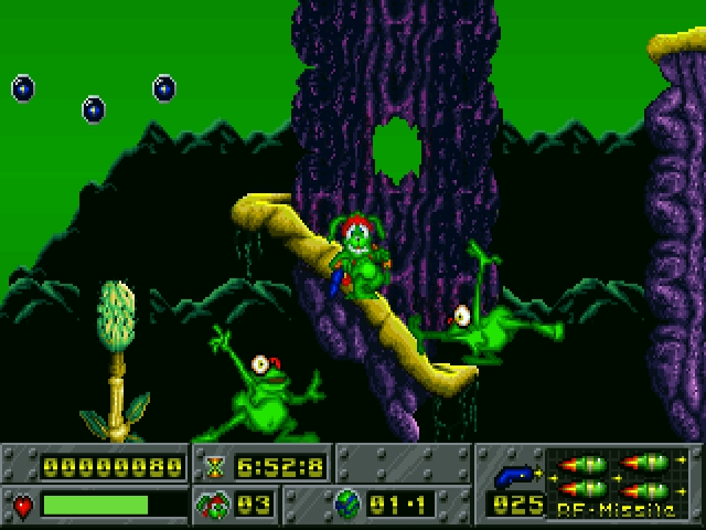 Screenshot af Jazz Jackrabbit