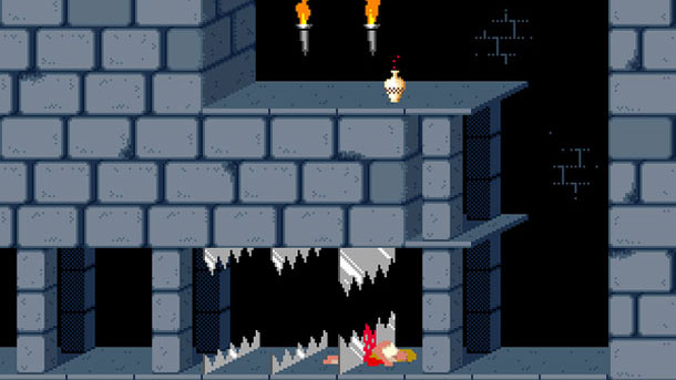 Screenshot af Prince of Persia 4D