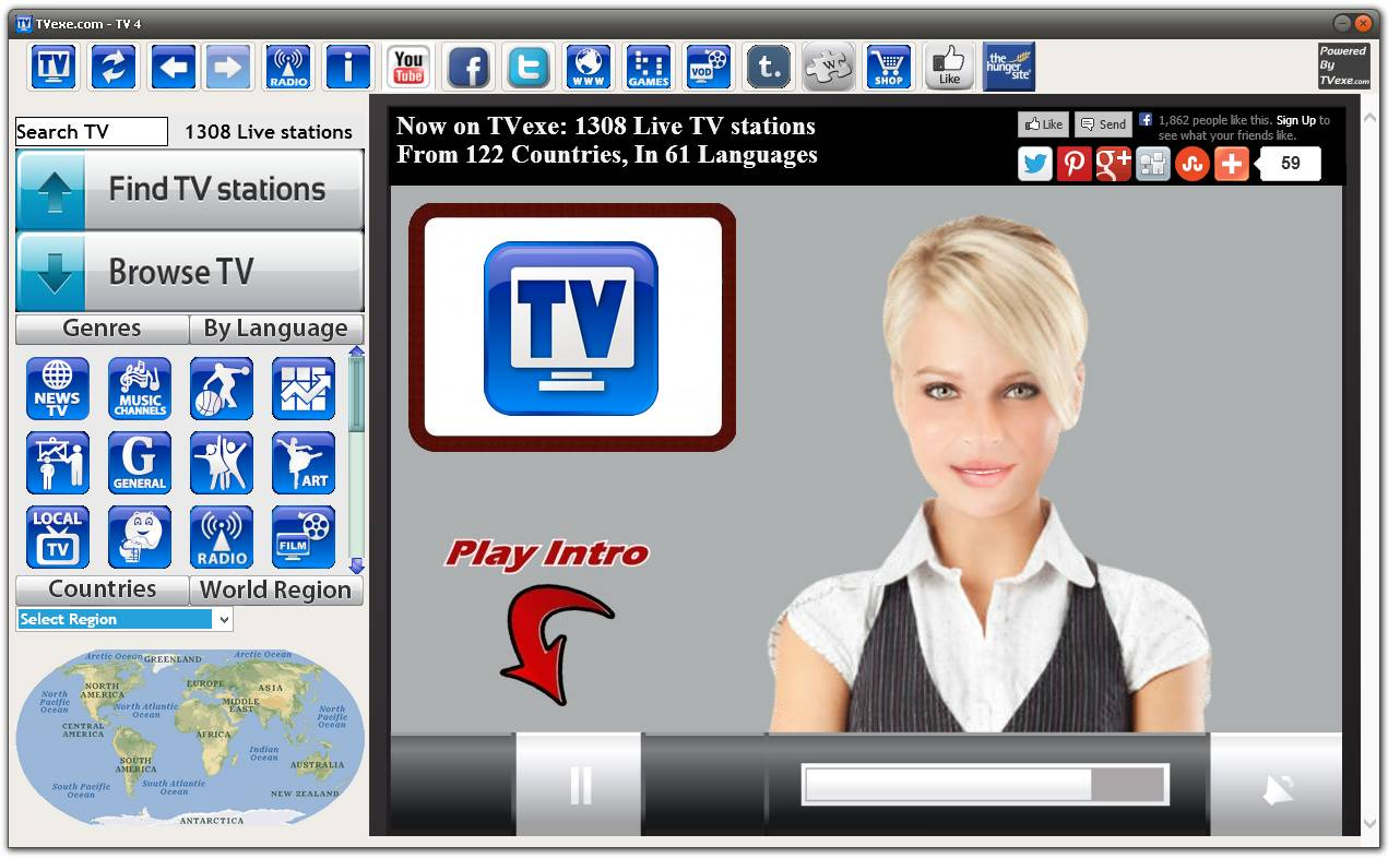 Online tv software for pc