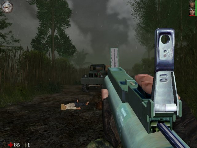 Screenshot af Line of Sight Vietnam