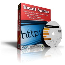 GSA Email Spider - Boxshot