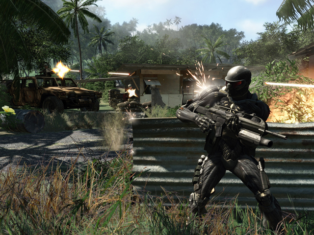 Screenshot af Crysis