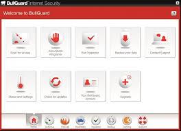 Screenshot af Bullguard Internet Security
