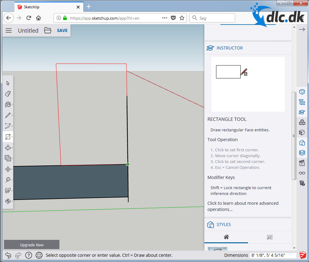 how to take a screenshot in sketchup