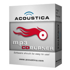 Acoustica MP3 CD Burner - Boxshot