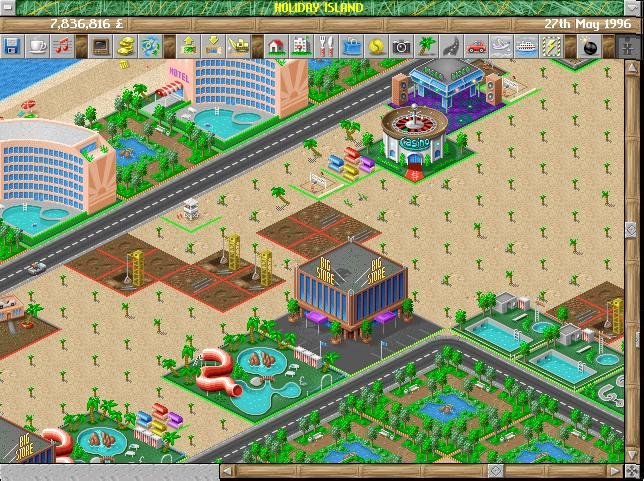 Screenshot af Holiday Island