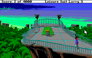 Screenshot af Leisure Suit Larry