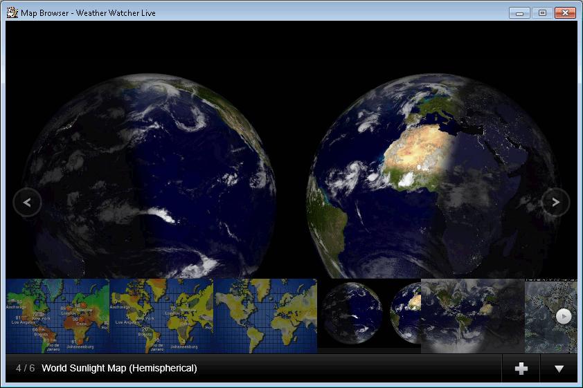Screenshot af Weather Watcher
