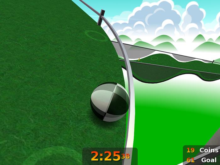 Screenshot af Neverball