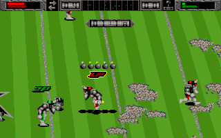 Screenshot af The Brutal Sports Series Football