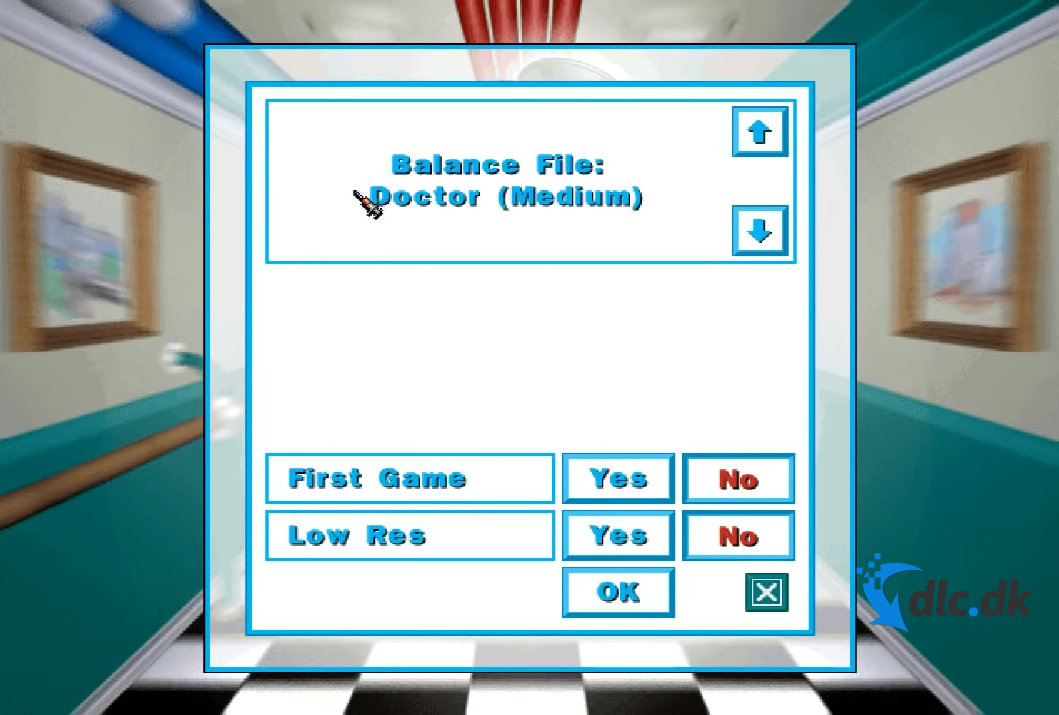 Screenshot af Theme Hospital