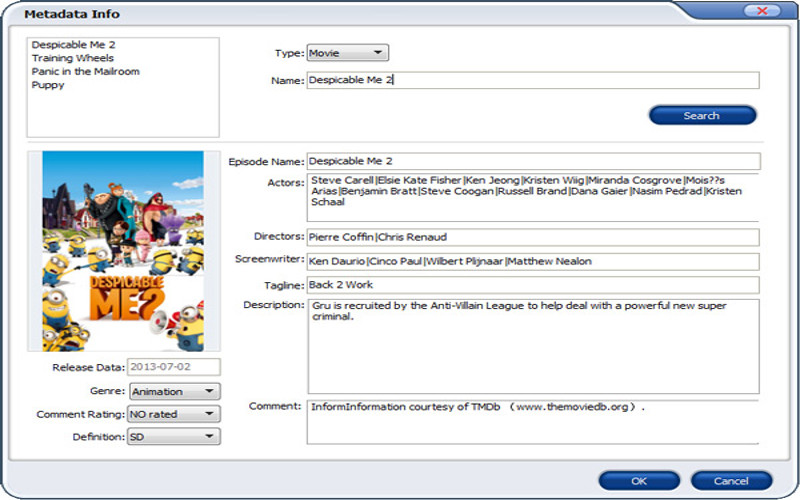 Screenshot af Aimersoft DVD Ripper for Mac