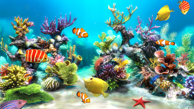 Screenshot af Sim AQUARIUM Screensaver