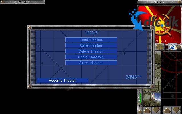 Screenshot af Command & Conquer - Red Alert