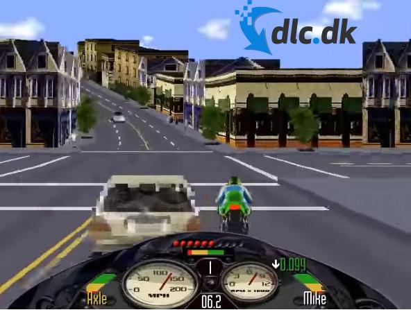Screenshot af Road Rash