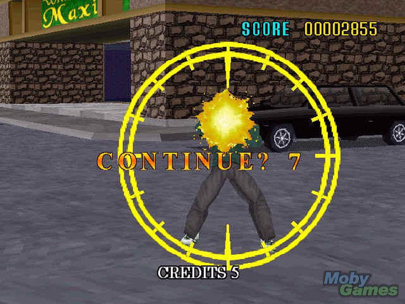 Screenshot af Virtua Cop