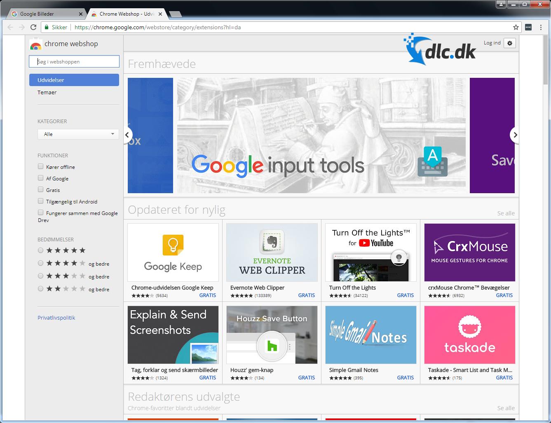 Download Google Chrome (Dansk) gratis her - DLC.dk