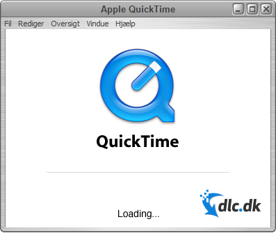 Screenshot af QuickTime Player