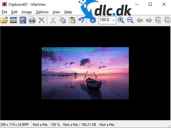 Screenshot af IrfanView