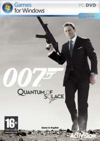 James Bond: Quantum of Solace - Boxshot