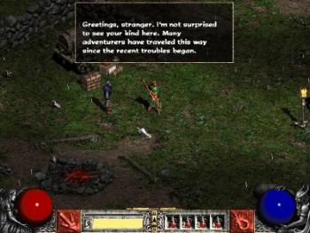 Screenshot af Diablo II