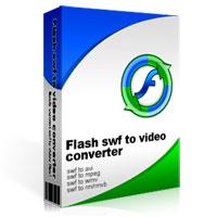 iWisoft Flash SWF to Video Converter - Boxshot