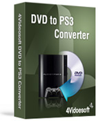 4Videosoft DVD to PS3 Converter - Boxshot