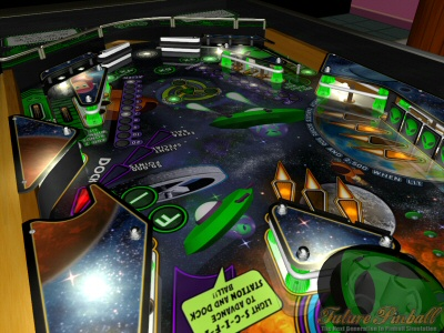 Screenshot af Future Pinball