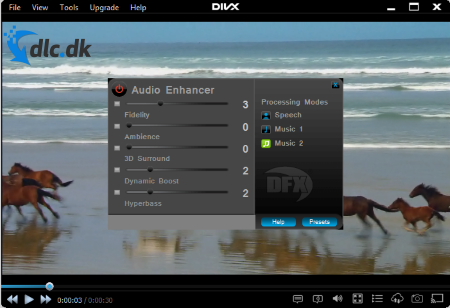 Screenshot af DivX