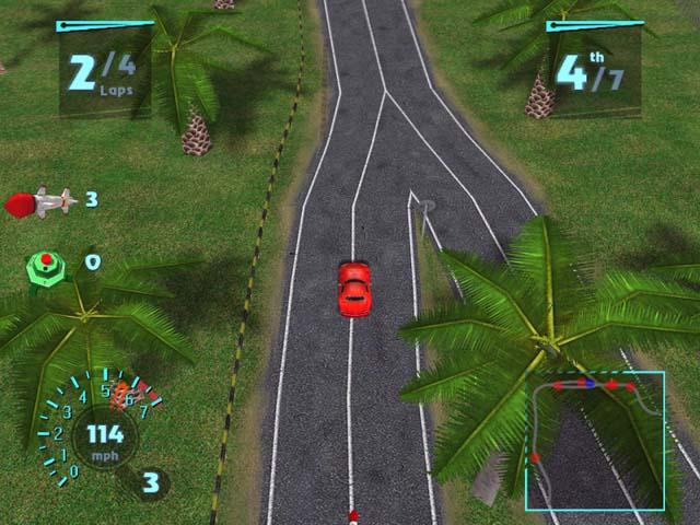Screenshot af Need For Extreme 3D