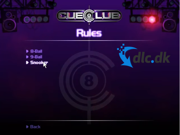 Screenshot af Cue Club 1