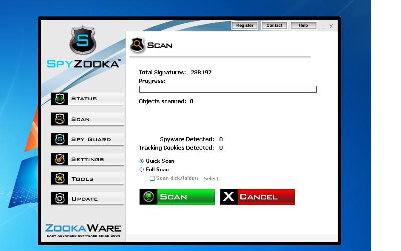 Screenshot af SpyZooka