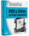 SnowFox DVD to iPad Converter - Boxshot