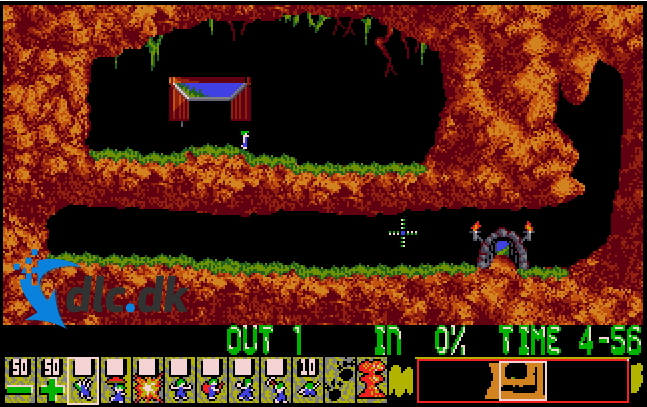 Screenshot af Lemmings