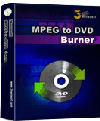 3herosoft MPEG to DVD Burner - Boxshot
