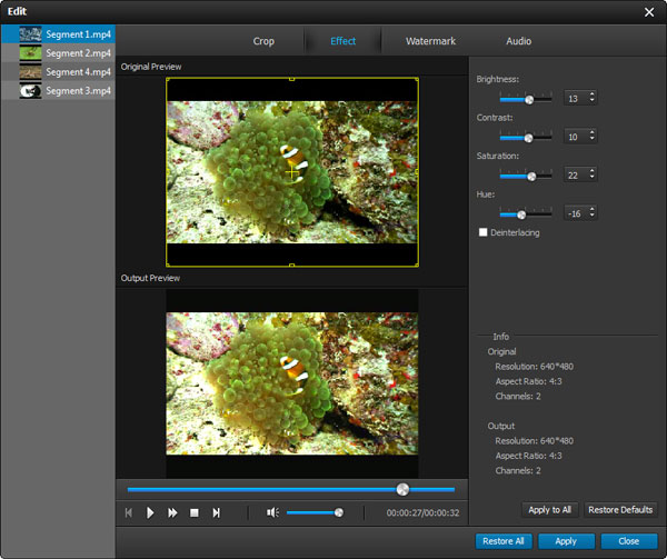 Screenshot af 4Media iPad Video Converter