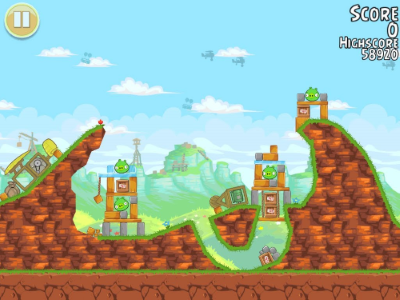 Screenshot af Angry Birds