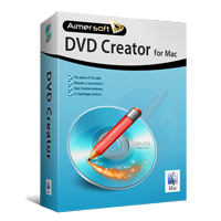 Aimersoft DVD Creator til Mac - Boxshot