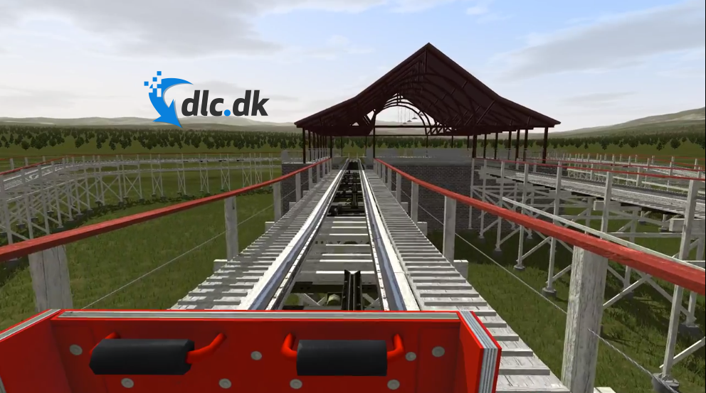 Screenshot af NoLimits Rollercoaster Simulation