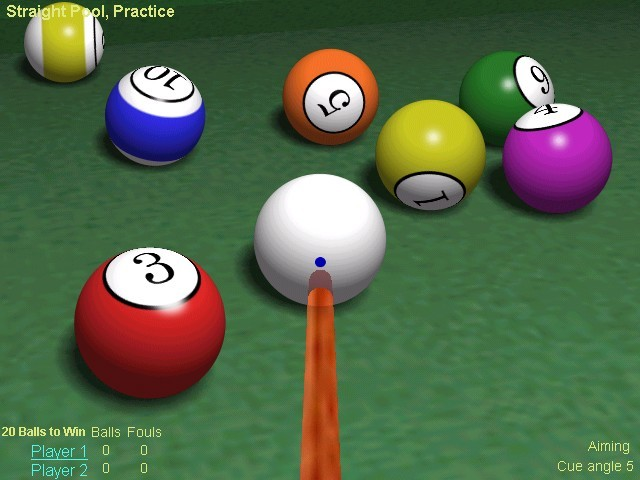 Screenshot af Live Billiards