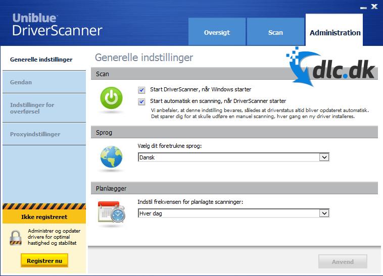 Download DriverScanner (Dansk) gratis her - DLC.dk