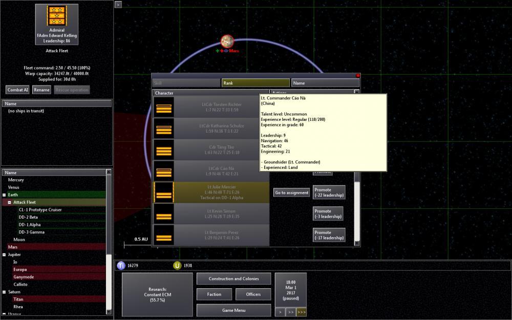 Screenshot af Solar Wars
