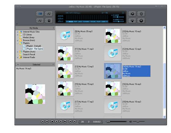 Screenshot af JetAudio Basic