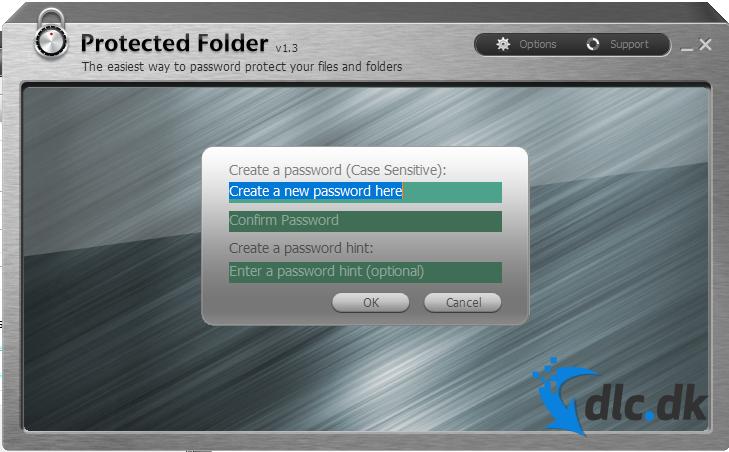 Screenshot af Protected Folder